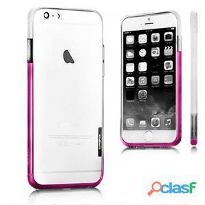 X-One Bumper Bicolor iPhone 6 Plus Blanco - Rosa