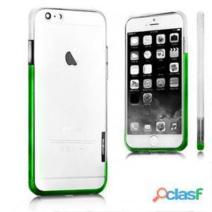 X-One Bumper Bicolor iPhone 6 Plus Blanco - Verde