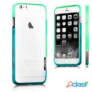 X-One Bumper Bicolor iPhone 6 Plus Verde - Azul