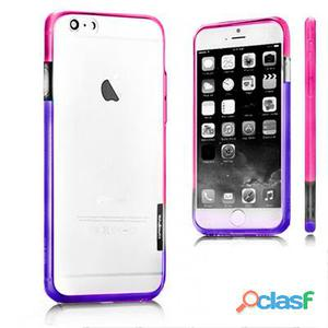 X-One Bumper Bicolor iPhone 6 Rosa - Morado