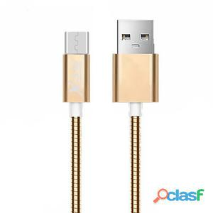 X-One Cmm1000G Cable Usb metal Micro Oro Rosa