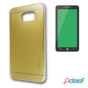 X-One Funda Tpu Brillo Samsung S6 Edge Dorado