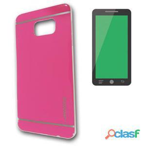 X-One Funda Tpu Brillo Samsung S6 Edge Rosa