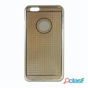 X-One Funda Tpu Diamante iPhone 6 Plus Dorado
