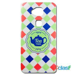 X-One Funda Tpu Dibujo Huawei G8 - Gx8 Tea