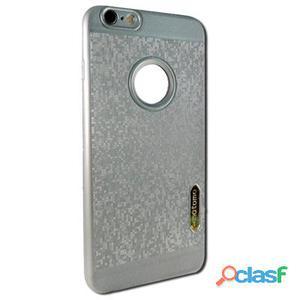 X-One Funda Tpu Glitter Samsung S7 Edge Plata