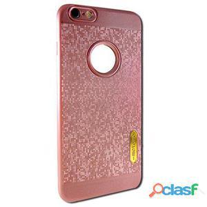 X-One Funda Tpu Glitter Samsung S7 Edge Rosa