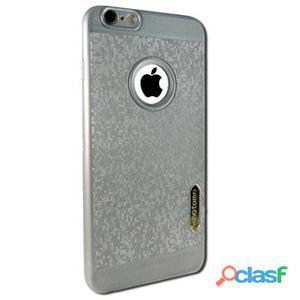 X-One Funda Tpu Glitter iPhone 6 Plus Plata