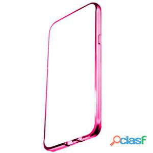 X-One Funda Tpu Metal iPhone 7 Plus - 8 Plus Rosa