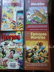 Comics de famosas novelas y superhumor