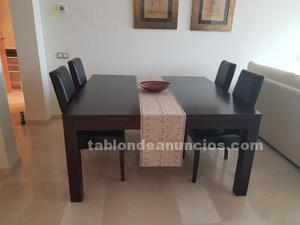 Juego mesa y 6 sillas
