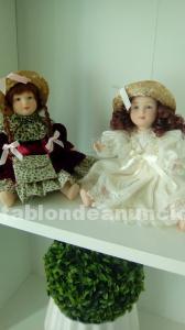 Muñecas porcelana articuladas