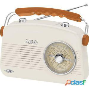 AEG Radio Portátil Retro Nr 4155 Crema