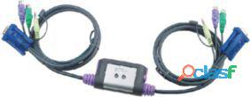 Aten Easy Kvm-Switch 2-Port Vga Ps/2 399 gr
