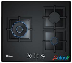 Balay Placa cristal-gas 3 fuegos 60 cm biselada