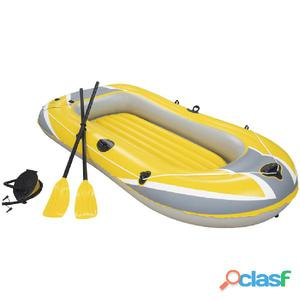 Bestway Barco inflable Hydro-Force con remos y bomba 61083