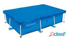 Bestway Cubierta de piscina rectangular 259×170 cm