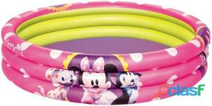 Bestway Piscina hinchable 3 anillos minnie