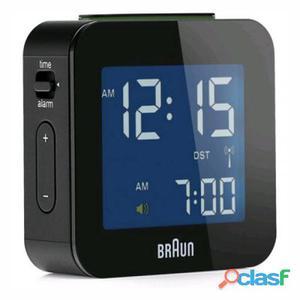 Braun Reloj despertador bnc008bk digital negro