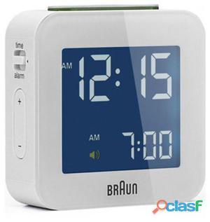 Braun Reloj despertador bnc008wh digital blanco