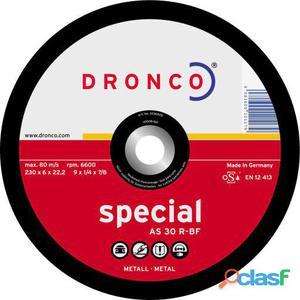 Dronco Disco De Desbaste As 30 R Special-Metal, 180 X 6 Mm