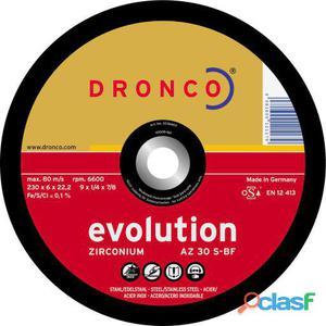Dronco Disco De Desbaste Az 30 S Evolution-Metal, 115 X 6 Mm