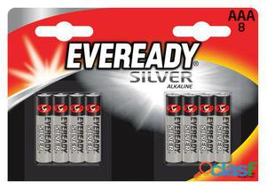 Energizer Alcalinas Eveready Silver Lr03 (AAA) (8 uds)