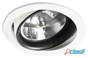 Faro Bcn Empotrable Optic Blanco Qr111 Max 100W 310 gr