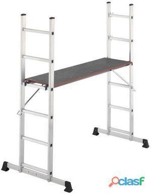 Hailo Andamio + Escalera Aluminio Multi