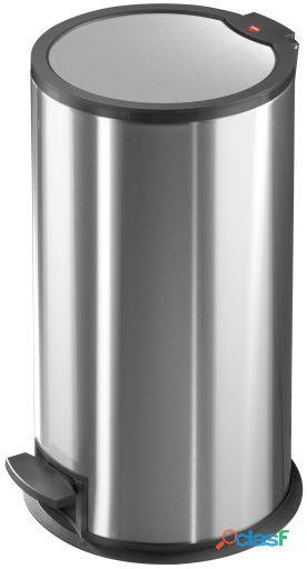 Hailo Cubo De Pedal T3.16 Litros (Acero Inoxidable