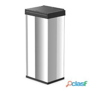 Hailo Cubo de basura Big-Box Touch XL 52 L acero inoxidable