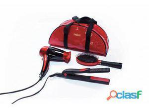 Medicura Set de belleza secador, cepillo, plancha de pelo y