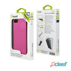 Muvit Funda slim rosa iphone 5