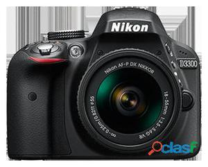 Nikon Camara fotos d3300 + afp dx 18 55 + kit report