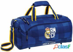 Real Madrid Bolsa Deporte Real Madrid Blue 810 gr