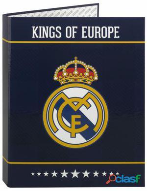 Real Madrid Carpeta Folio 4 Anillas Mixtas Real Madrid 330