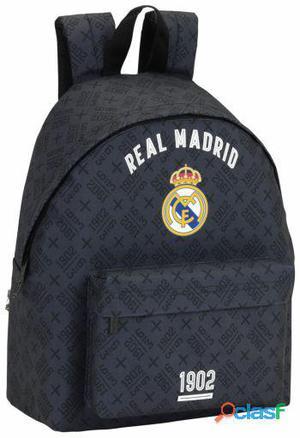 Real Madrid Day Pack Estampado Real Madrid Black 420 gr