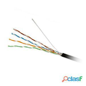 Televes Bobina Cable Rj45 Cat5E Pe Utp Negro 305M