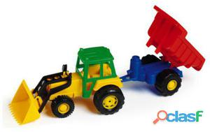 Toysland Tractor Con Remolque 49 cm