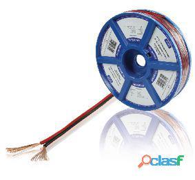 Valueline Cable Para Altavoz 2X 0.75 mm 100 m negro y rojo