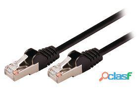 Valueline Cable de red macho a macho de 20.0 m negro 493 gr