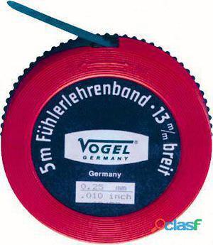 Vogel Rollo fleje calibrado 5 metros x 13 mm Espesor 0,09 mm