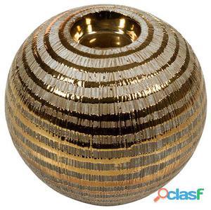 Wellindal Candelabro cerámica bronce