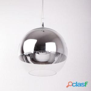 Wellindal Lámpara De Techo 30x80 Cristal 2.2 Kg