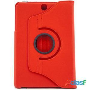 X-One Funda Piel Rotacion Samsung Tab A T550 Rojo