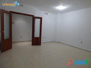 piso de 4 habitaciones sin muebles en san roque totalmente
