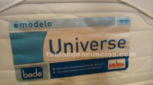 Vendo colchón de 150 cms. De ancho, limpio y en buen uso