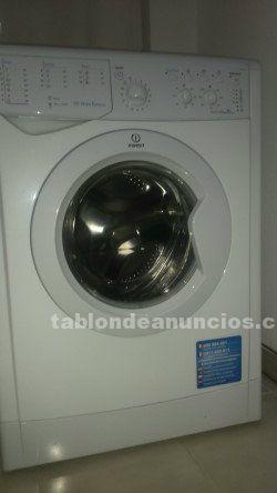 Vendo lavadora indesit hasta 6kg rpm clase a+
