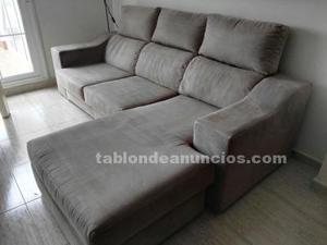 Vendo sofa 3 plazas chaise longue
