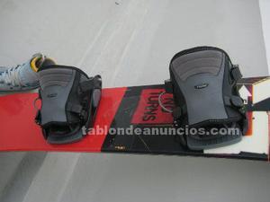 Vendo equipo snowboard completo
